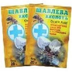 Для лечения и профилактики варроатоза пчел