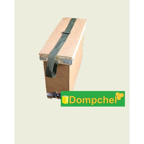 Ящик для переноса 4-х рамок с 1-й регулируемой ременной ручкой, 385х520х160