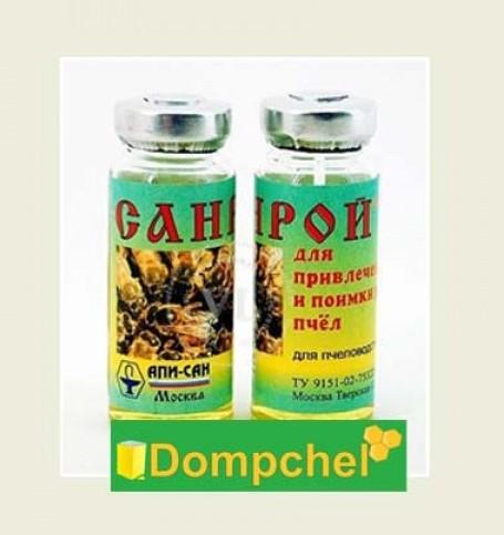 Санрой 10 мл (раствор) – препарат, который применяется для завлечения пчелиного роя в ульи и ловушки