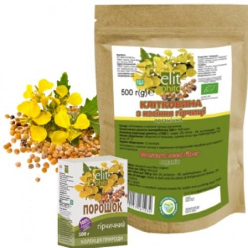 Клетчатка семян горчицы (органик) 200 грамм